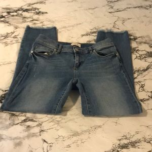 LOFT Outlet cropped jeans